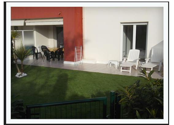 Appartement résidence Juan Flore Juan les Pins, location vacances Antibes